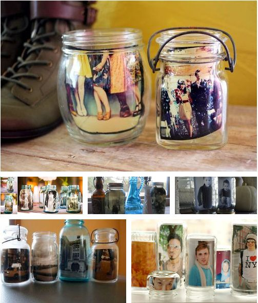 Jar Photo Frame