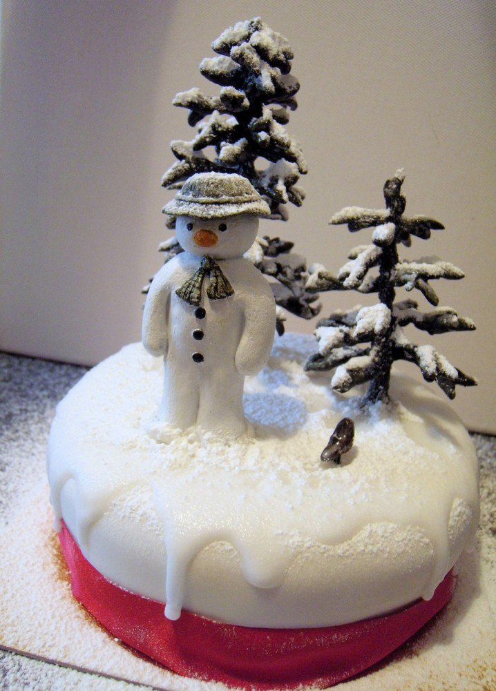 pretty snowman cake ideas for christmas pretty designs