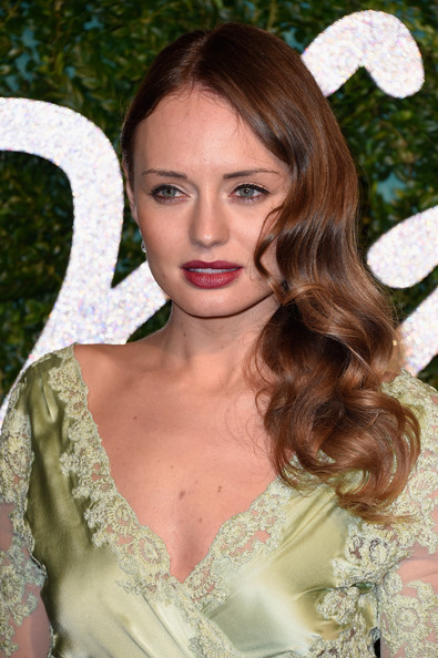 Laura Haddock Wavy Hair