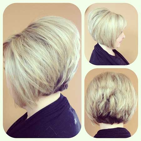 Layered A-line Bob Haircut