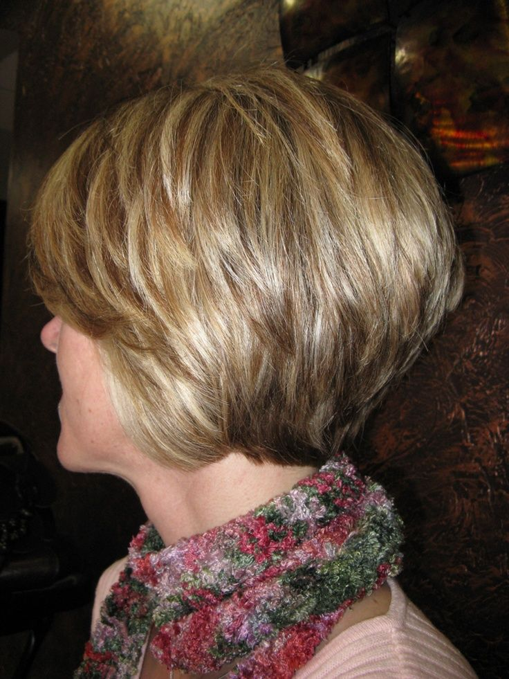 Back View Shoulder Length Layered Haircuts For Thick Hair 68