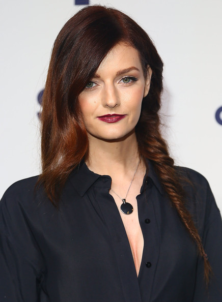 Lydia Hearst Loose Partial Braid