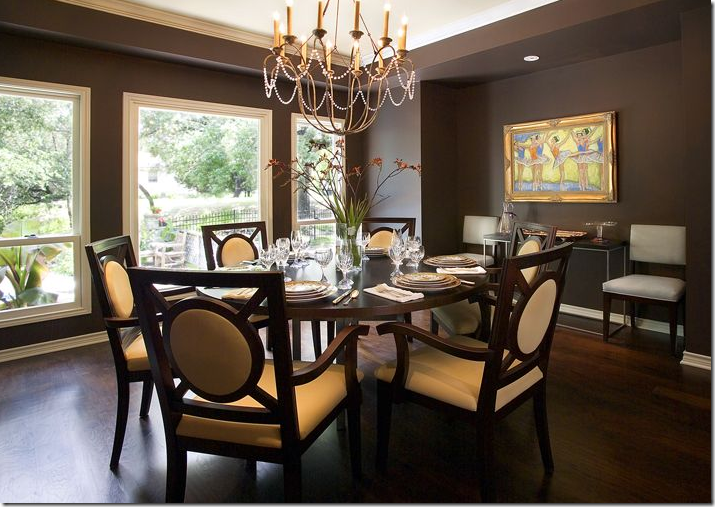 Modern Dining Room-Casual Vibe