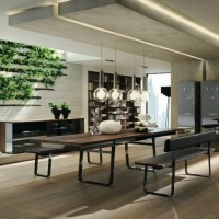 Modern Dining Room-Creative Table