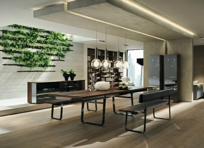 Modern Dining Room-Creative Table