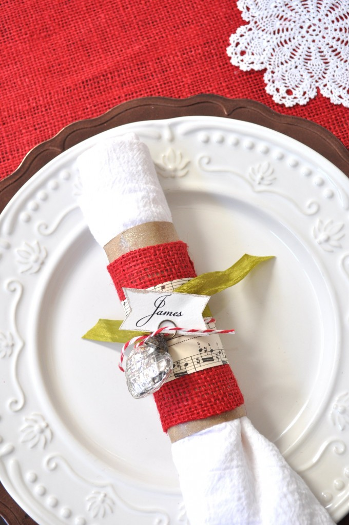 Diy Ideas Christmas Napkin Rings Pretty Designs