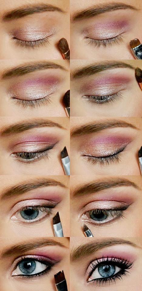 Pink Smoky Eyes