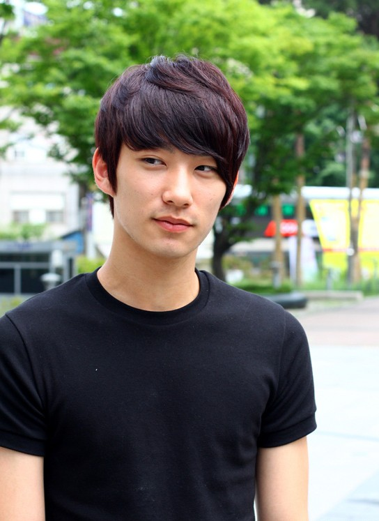 Common Korean hairstyle for men