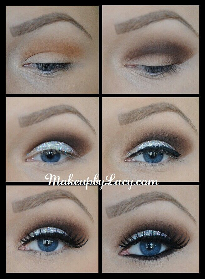 10 Best Smoky Makeup Tutorials for Christmas Parties - Pretty Designs