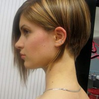 Stacked A-line Bob Haircut for Girls