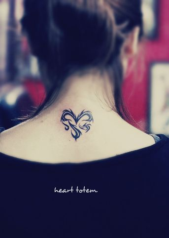 Stylisn Heart Tattoo