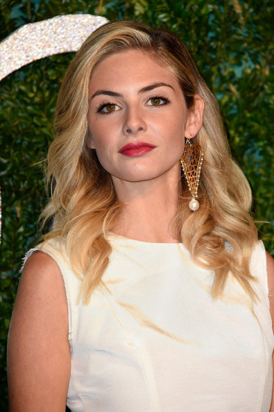 Tamsin Egerton Deep Side Part