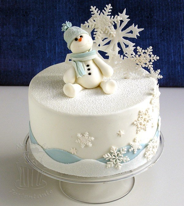 pretty snowman cake ideas for christmas pretty designs. Black Bedroom Furniture Sets. Home Design Ideas
