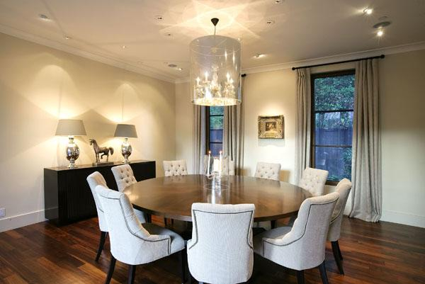 Tufted Chairs for Round Table