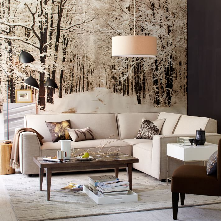 11 Stylish Wall Murals For This Winter Pretty Designs