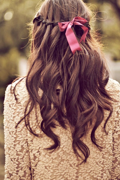 Amazing 12 Pretty Hairstyles With Ribbons Pretty Designs Hairstyles For Women Draintrainus