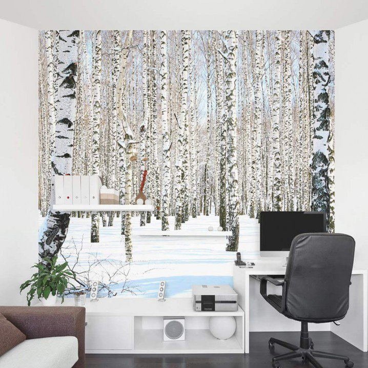 11 stylish wall murals for this winter pretty designs 25 best ideas about tree wall murals on pinterest wall