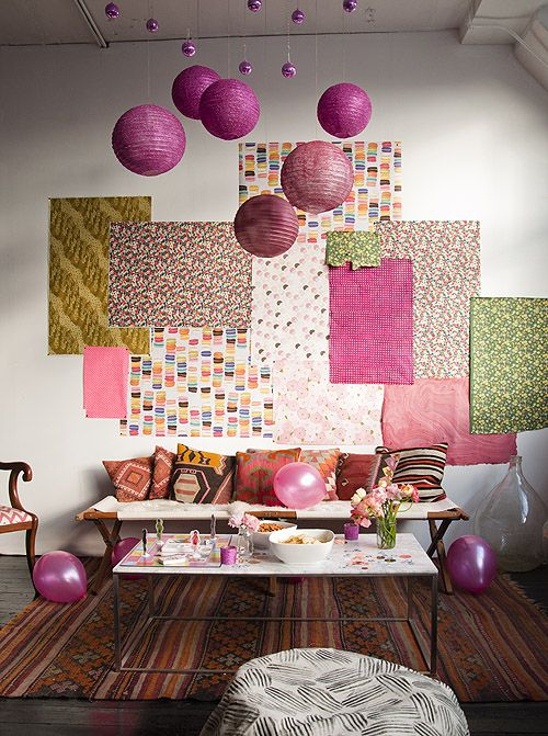 Wrapping Paper Wall Art