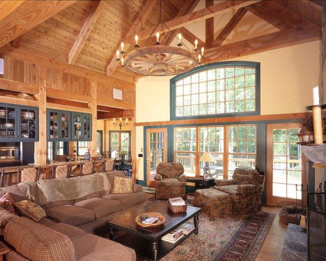 12 Rustic Living Room Designs You Must Love Pretty Designs