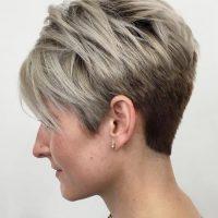 short balayage pixie haircut 2018