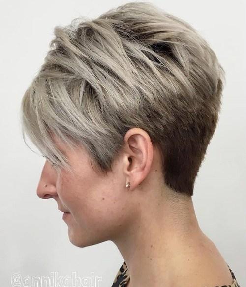 short balayage pixie haircut 2019