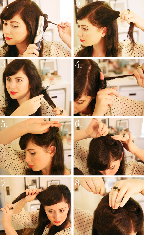 30 DIY Vintage Hairstyle Tutorials For Short, Medium, Long