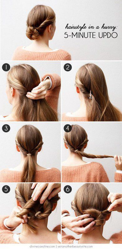 27 Easy Five Minutes Hairstyles Tutorials Pretty Designs