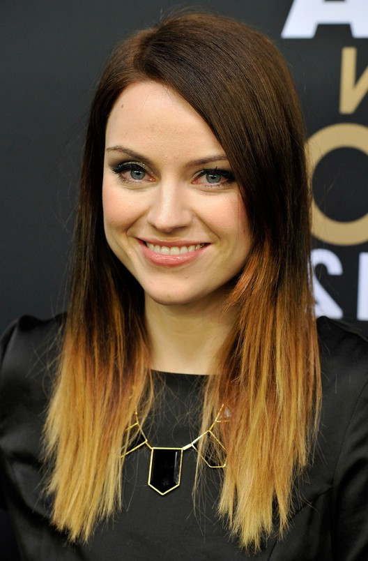 Amy Macdonald Trendy Medium Ombre Hair