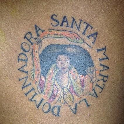 Azealia Banks tattoos – Santa Marta Tattoo