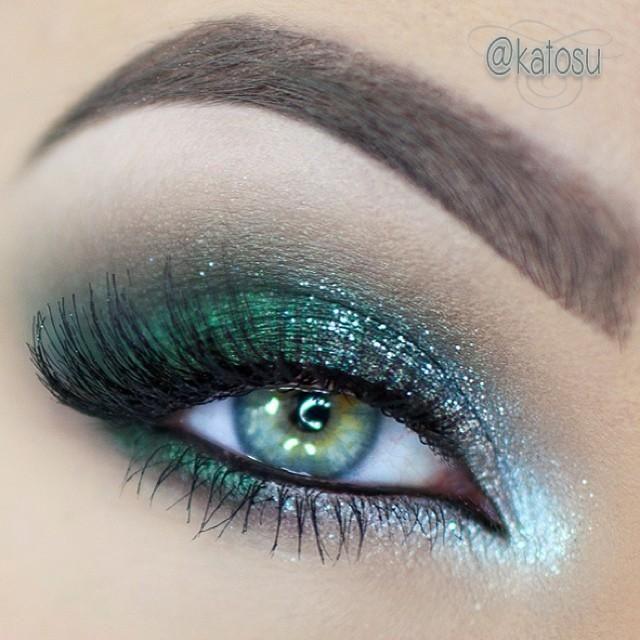 15 Glitter Eye Makeup Ideas For Spring Pretty Designs