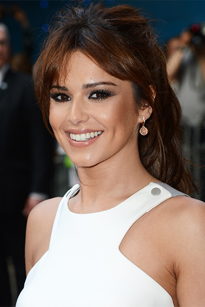 Its a bad hair day for LOreal model Cheryl Cole as she