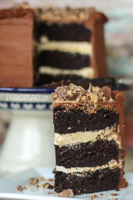 Chocolate Peanut Layer Cake