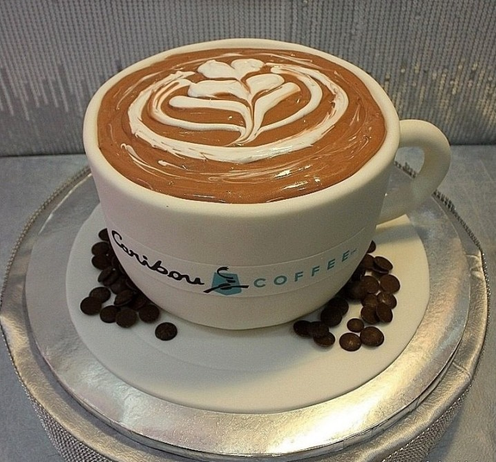 Make Coffee Cup Cake
