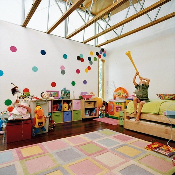 12 pretty attic bedroom designs for your kids pretty designs for Kinderzimmer play 01
