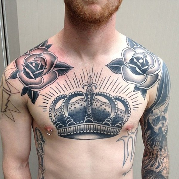 48 Crown Tattoo Ideas We Love