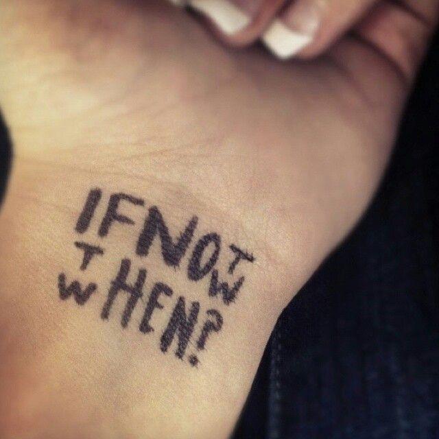 Cool Written Tattoo