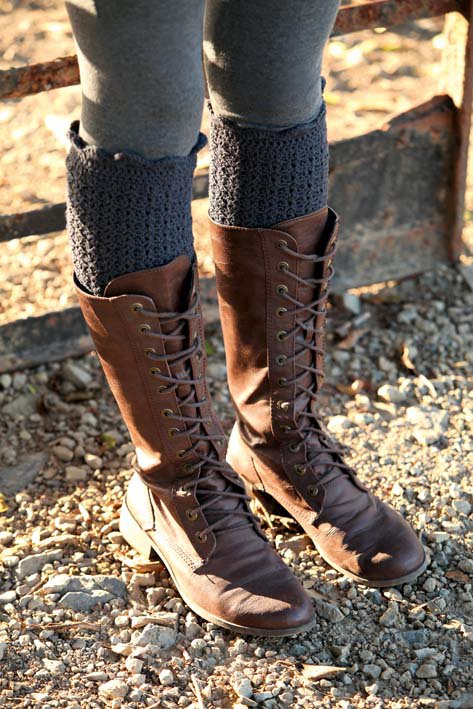 Crocheting Leg Warmers : Crochet Leg Warmers via