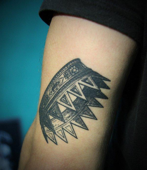 Crown Sleeve Tattoos