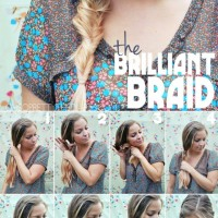 Cute 5-munite braid for long hair