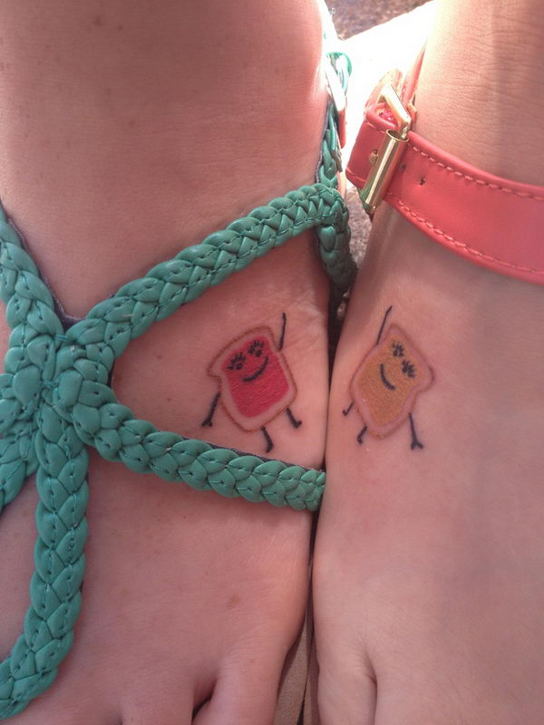 Cute Tattoo on Foot