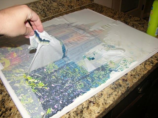 How to DIY Canvas Prints - Pretty Designs