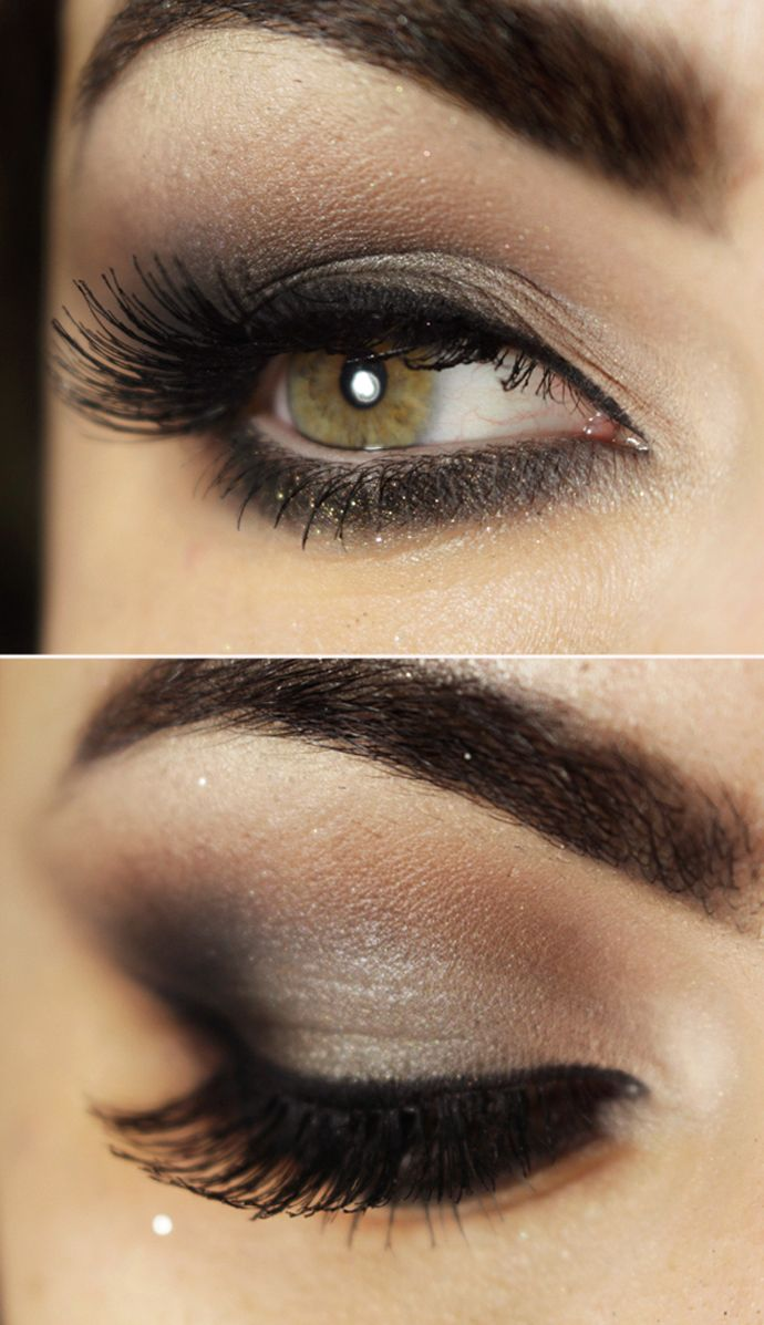 Smokey Eyeshadow Tutorial: 10 Pretty Eye Makeup Ideas