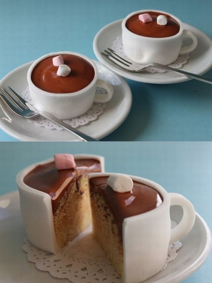 Delicious Coffee Cup Cake