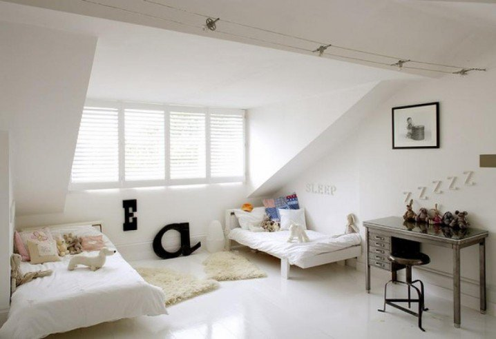 Easy Attic Bedroom