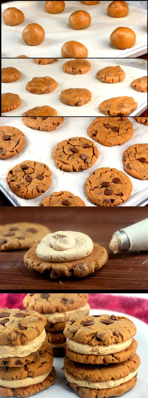 Flourless Peanut Butter Chocolate Cookie