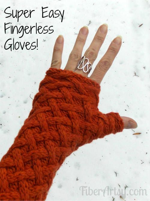 Gloves from Sweater