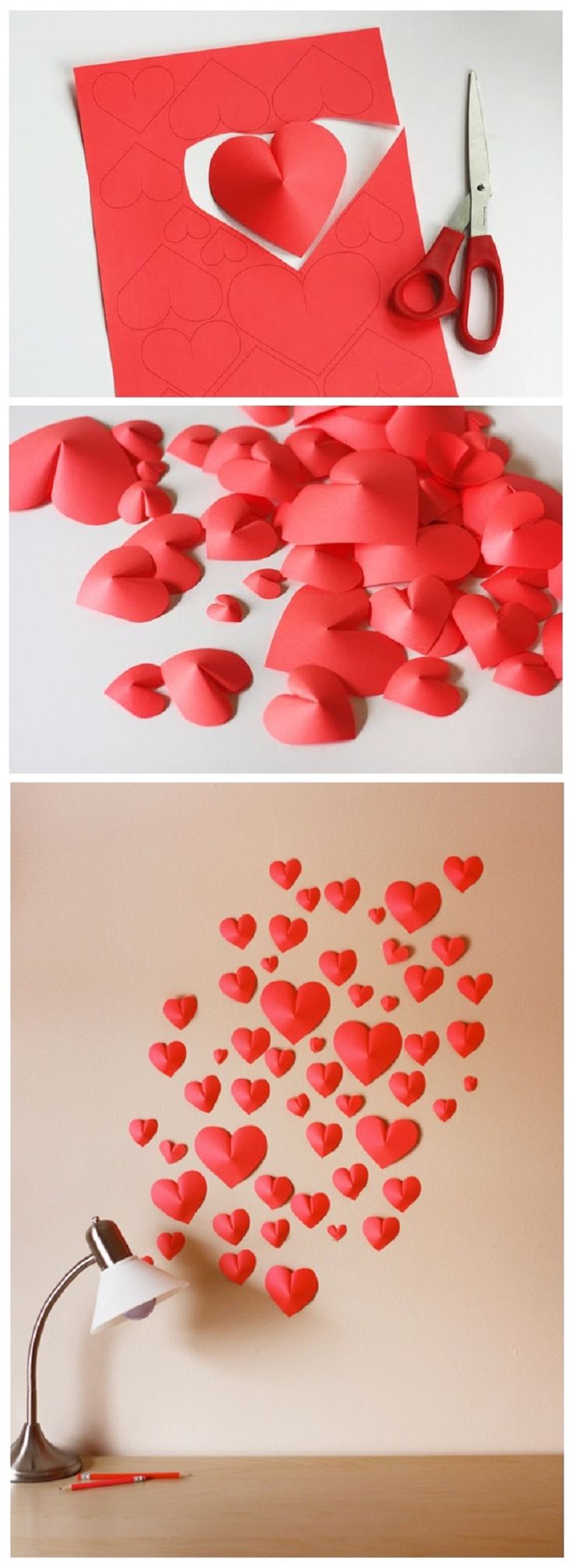 Diy projects for valentine s day pretty designs for Hearts decorations home