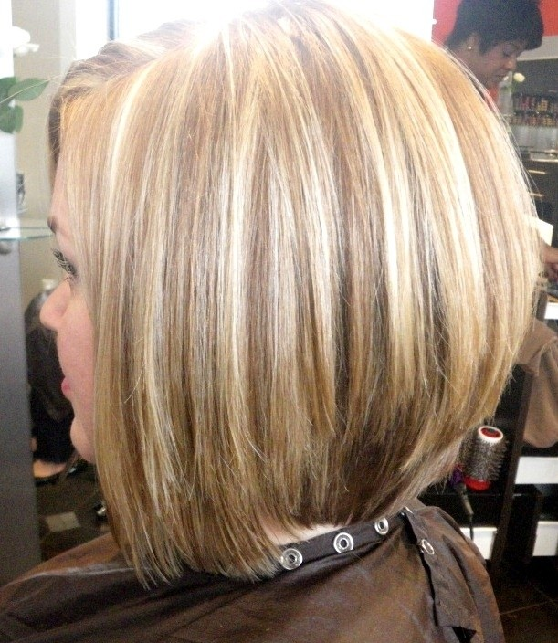 Highlighted Bob Haircut