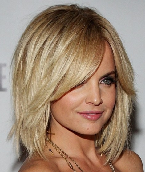 Best Short Hairstyles for 2015: Layered Bob Haircut for Medium Hair