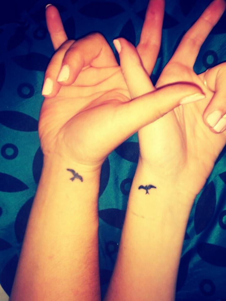 Matching Best Friend Tattoo